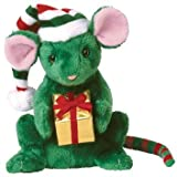 Ty Beanie Baby - Tidings The Christmas Mouse Rare Ty Store Exclusive