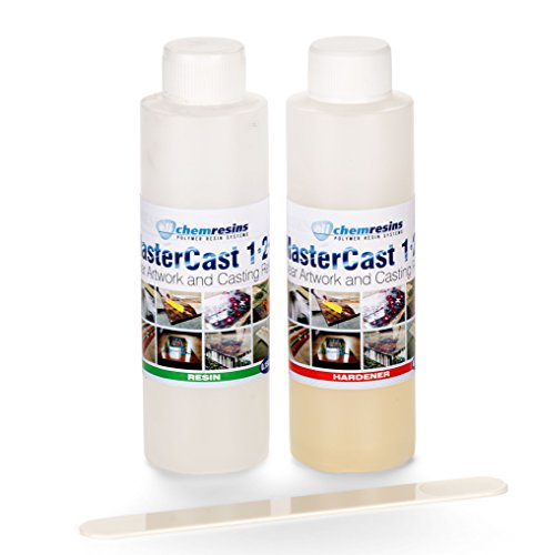 clear-resin-epoxy-art-grade-resin-285ml-tester-kit-uv-stabilised-mastercast-1-2-1-with-hardener-and-