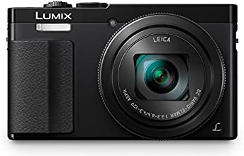 Panasonic Lumix DMC-TZ70EB-K Compact Digital Camera - Black (12 MP, 30x Optical Zoom, LEICA DC Vario Lens) 3-Inch LCD