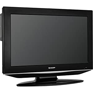 Sharp AQUOS LC32DV28UT 32-Inch LCD TV/ DVD Combo Unit, Black