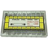 About 270pcs 8-25mm Watch Bracelet Strap Link Pins Spring Bar Repair Tool Boxset