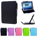 i-UniK E FUN 2013 Nextbook Premium 8HD Multi-Angle Slim Protection Case / Cover Dual Core with Google Play [NOT FIT 2014 Nextbook 7.85 / Nextbook 8] - (Black)