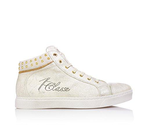 1^CLASSE - Scarpa, Sneaker beige, Bambune e ragazze, Bambina-32