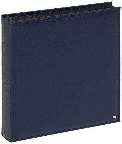 FA-285-L Fotoalbum Deluxe, 28 x 30,5 cm, 70 schwarze Seiten, blau