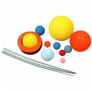 Amazon.com: Floracraft Styrofoam Solar System Kit-Painted ...