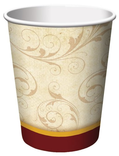 Creative Converting 8 Count Floral Inspiration Paper Cups