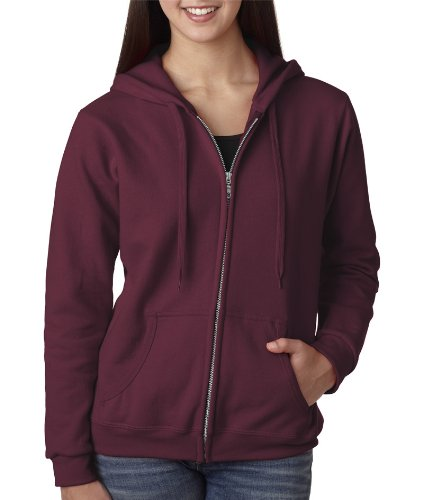 Gildan Missy Fit Heavy BlendFull-Zip Hooded Sweatshirt - Mar