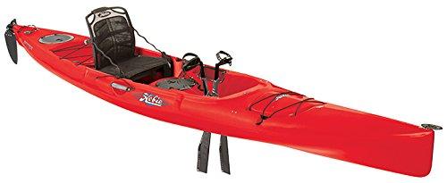 2017 Hobie Mirage Revolution 16 Fishing Kayak (Red Hibiscus)