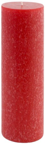Root Candles Scented Timberline Pillar Candle, 3-Inch by 9-Inch Tall, Hollyberry