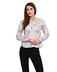 Printed Lacy Shirt S
