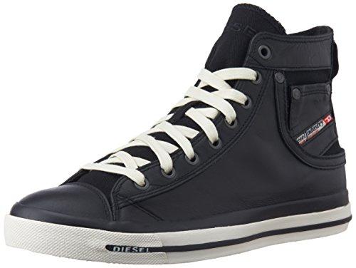 "Diesel - ""MAGNETE"" EXPOSURE I - sneaker, Sneakers da Uomo, Nero (Schwarz (T8013)), 45"