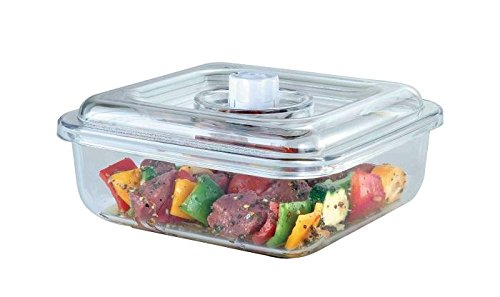 FoodSaver Quick Marinator 2-1/4-Quart Square Canister, T02-0050-05, New (Foodsaver Vacuum Sealer 4400 compare prices)