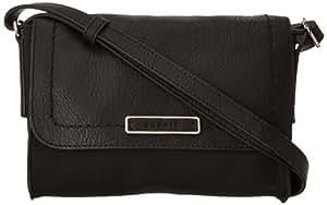 Esprit Womens Cross-Body Bag 093EA1O050 Black