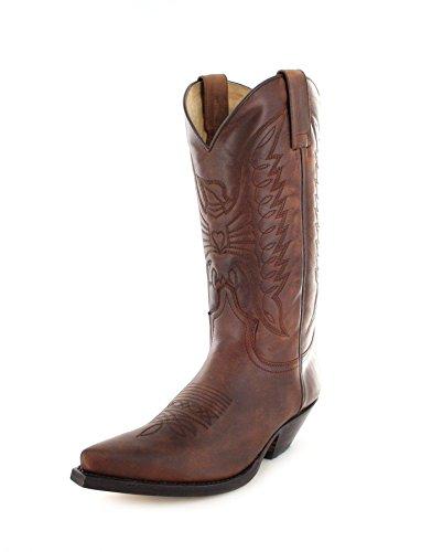 Sendra Boots2073 - Stivali western Unisex - adulto , marrone (Sprinter 7004), 43 EU