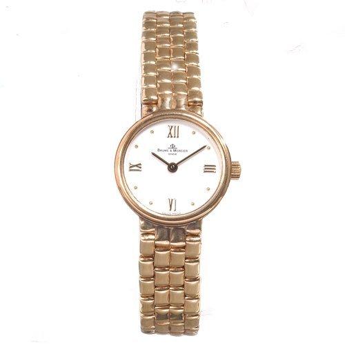 Baume & Mercier Lady's 14K Yellow Gold Watch