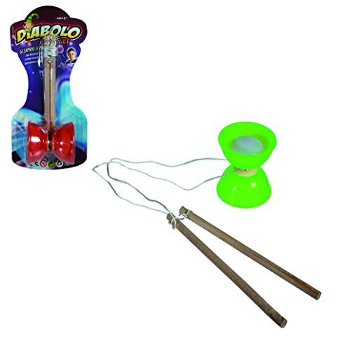 Perfect Birthday Present/Gift Classic/Traditional Diabolo With Light, A Great Toy for Boys & Girls, Great Gift Idea for Christmas or Stocking Fillers