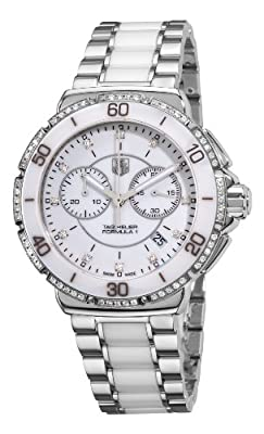 "TAG Heuer Women's CAH1213.BA0863 ""Formula One"" Stainless Steel Watch with Diamonds"