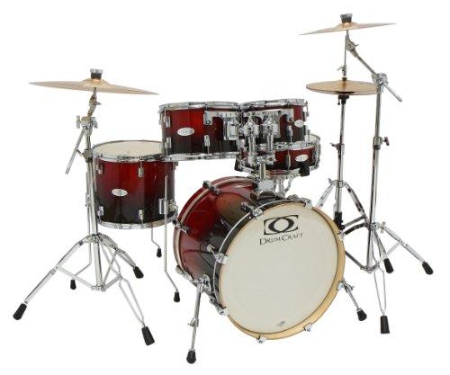 Drum Craft Dc805043 Series 5 Jazz Drum Set - Crimson Fade