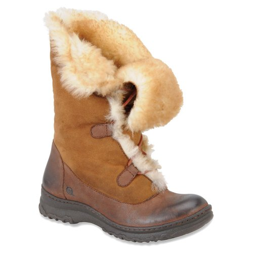 New Born Filo Cold-Weather Boot Canoe Shearling Lined Ladies 8