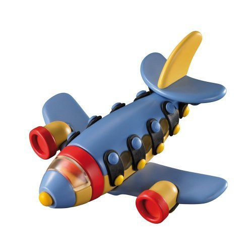 Mic.O.Mic Build and Play - Jet Plane Construction Toy Kit - Ages 5+