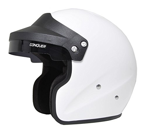 Snell SA2015 Approved Open Face Racing Helmet (Open Face Racing compare prices)
