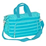 Everest Diaper Bag with Changing Station, Aqua Blue, One Size