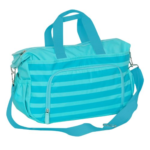 Everest Diaper Bag W/ Changing Station Color: Aqua