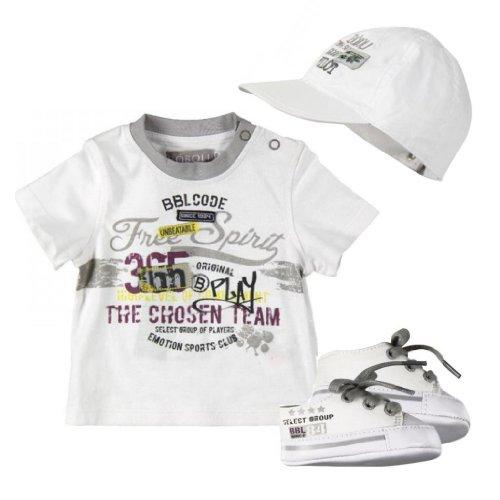 XL Baby Boy Communion Christening Baptism Outfit Suit set w//cap size XS 0-24M