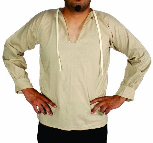 Alexanders Costumes Muslin Peasant Shirt