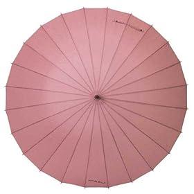 MABUベーシック24本骨傘 キャンティ(ピンク系)