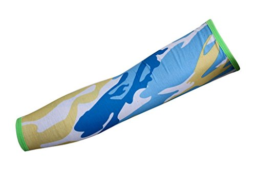 Fletion 1 Paar Heißer Verkauf Buntes Drucken Sun UV-Schutzabdeckung Arm Sleeves - Beste Schutz für Outdoor-Sport Angeln Radfahren Jogging Basketball usw.