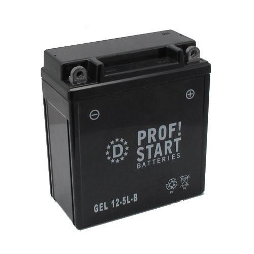 Profi-Sart Motorrad GEL Batterie 12-5L-B für MZ