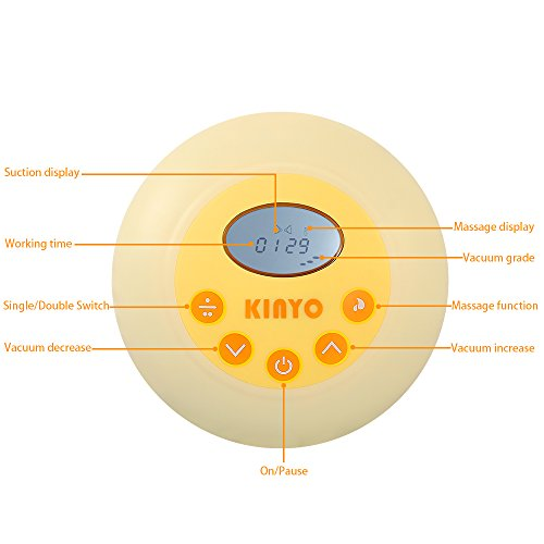 kinyo tire lait electrique double pompage 49db super. Black Bedroom Furniture Sets. Home Design Ideas