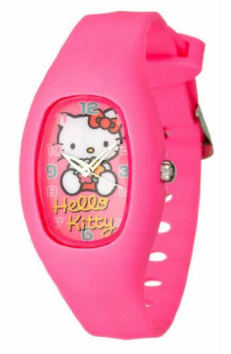 Hello Kitty Women's Watch Pink Resin Strap
