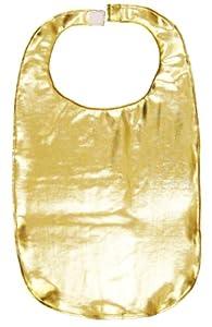 Fancy Gold Lame Adult Bib