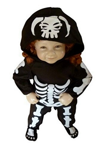 Fantasy World Boy's F70 Skeleton Costume (9 Months-2t)