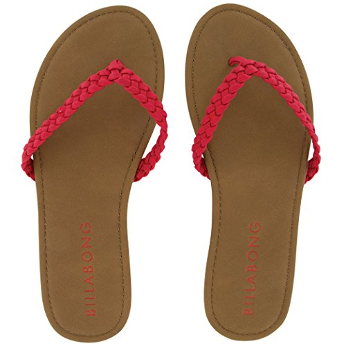 Brown Leather Flip Flops For Women front-694202