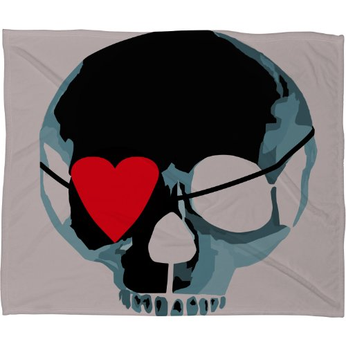Skull Throw Blanket back-1072712