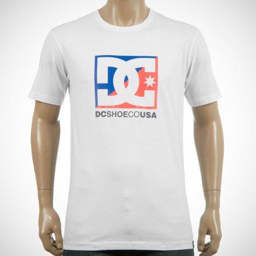 DC Shoes Cross Star Logo Men's T-Shirt White X-Large