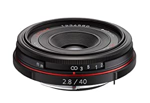 Pentax K-Mount HD DA 40mm f/2.8 40-40mm Fixed Lens for Pentax KAF Cameras (Limited Black)