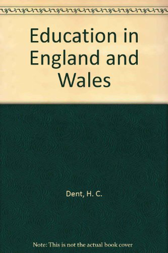Education In England And Wales (Unibooks)