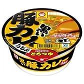 東洋水産 マルちゃん 黒いまめ豚カレーうどん42g×24(12×2)個入