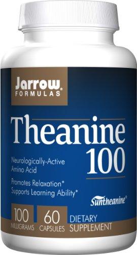 Jarrow Formulas Theanine 100, 60 Capsules