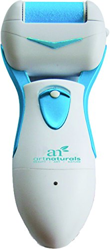 #1 Rechargeable Electric Callus Remover - The Most Powerful & Effective Electronic Pedicure Foot File Callus Remover On The Market, More Powerful than any AA Battery Operated Foot File Tool/Shaver - Effectively Removing The Coarse, Tough Skin On The B...
