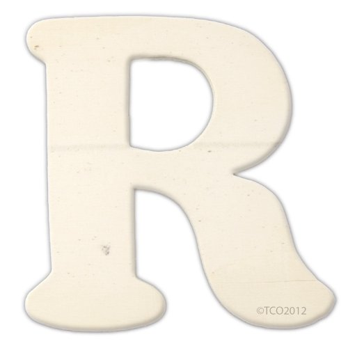 The Crafts Outlet Unfinished Plywood Plaque, Letter O, 3-1/4-Inch Width with 1/8-Inch Thickness