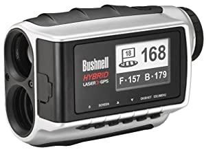 Bushnell Hybrid Pinseeker Laser Rangefinder and GPS Unit by Bushnell