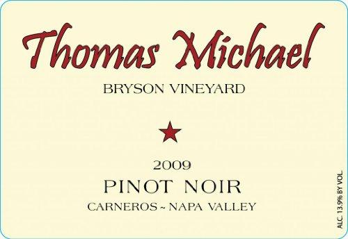 2009 Thomas Michael Pinot Noir Napa Valley Bryson Vineyard 750 Ml