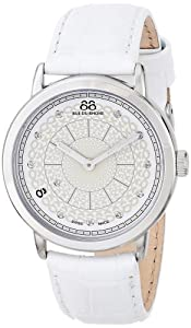 88 Rue du Rhone Women's 87WA120019 Analog Display Swiss Quartz White Watch