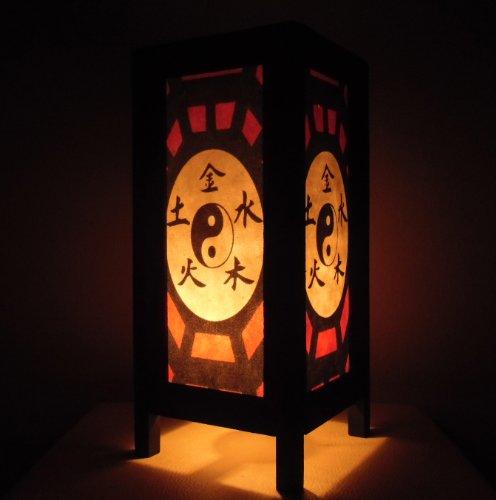 rare-asie-thai-lampe-de-tables-bouddha-style-chevet-yin-yang-par-thailande