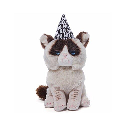 Gund Grumpy Cat Birthday Beanbag